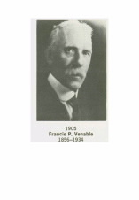 Former ACS President Francis P. Venable