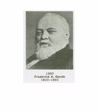 Former ACS President Frederick A. Genth