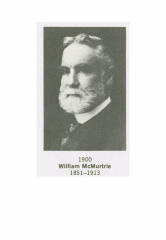 Former ACS President William McMurtrie