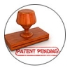 "Stamp labeled ""Patent Pending"""