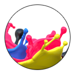 Colorfully Splashing 3d printing material