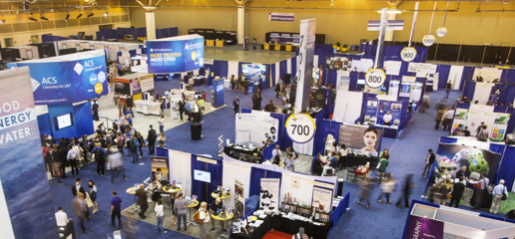 Exposition Hall at an ACS Event