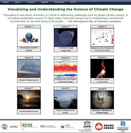 Visualizing and Understanding the Science of Climate Change,