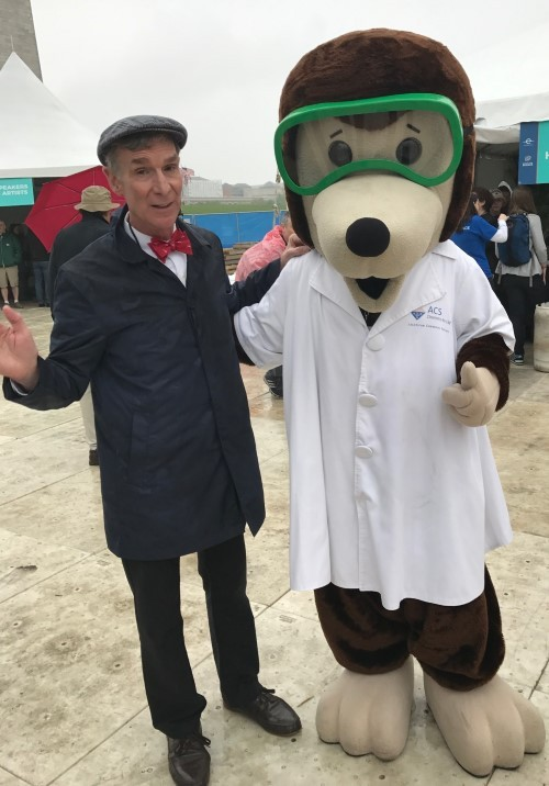 Bill Nye and Professor Molenium