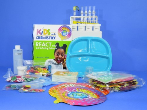 Kids & Chemistry React with Self-Inflacting Balloons Kit