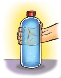 bottle full water