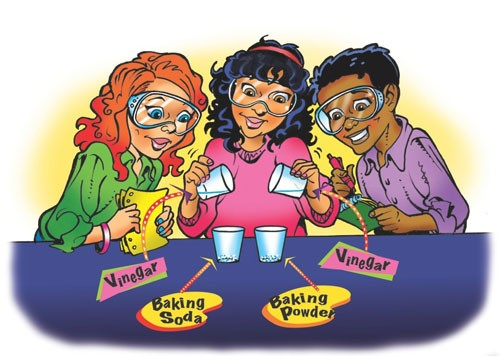 Lesson 3.1 - What's the Difference between Baking Soda and Baking Powder? image