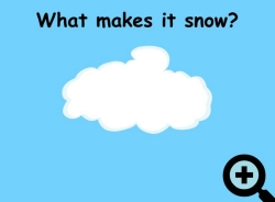 What makes it snow animation