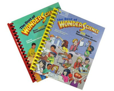 Best of WonderScience book covers
