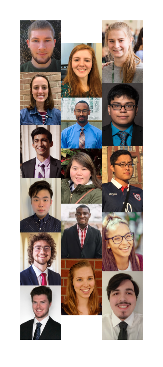 2019 SCI Scholars interns