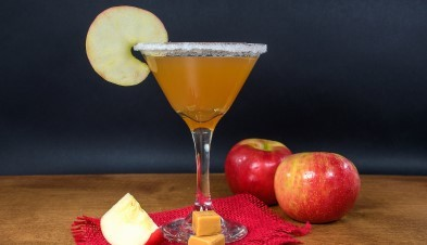 Fizzy Caramel Apple Cider