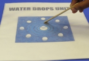 using-popsicle-stick-on-water-drops-unite-board
