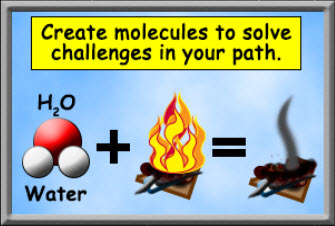 Create molecules to solve challenges in your path
