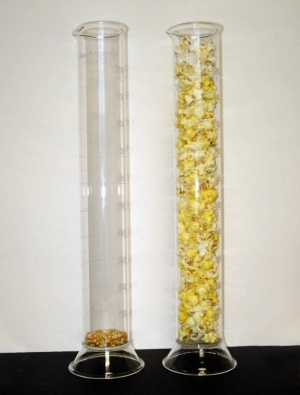 Cylinders of Popcorn
