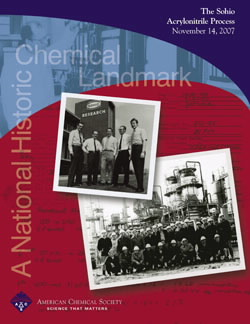 The Sohio Acrylonitrile Process commemorative booklet