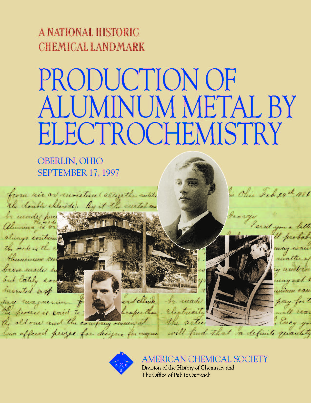 """Production of Aluminum Metal by Electrochemistry"" commemorative booklet"