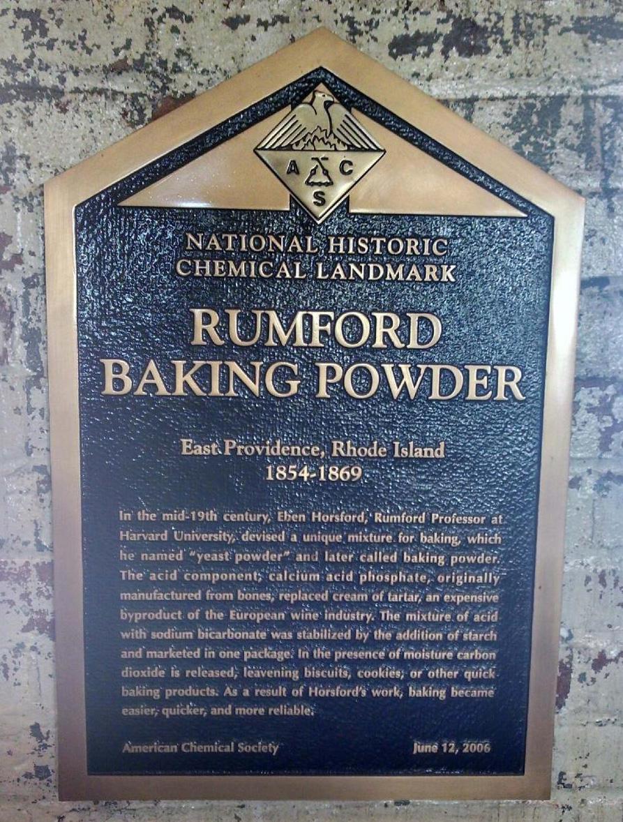 Detail of The Rumford Baking