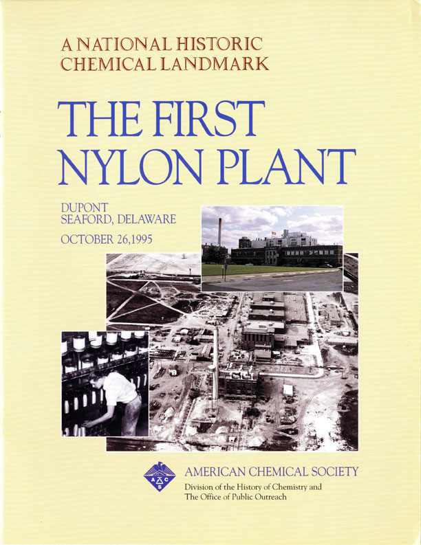 """The First Nylon Plant"" commemorative booklet"