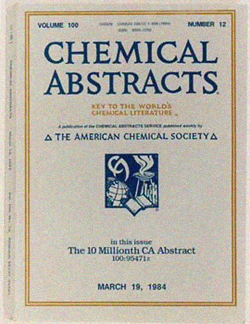 chemical abstracts service  national historic chemical landmark  chemical abstracts service  national historic chemical landmark  american  chemical society