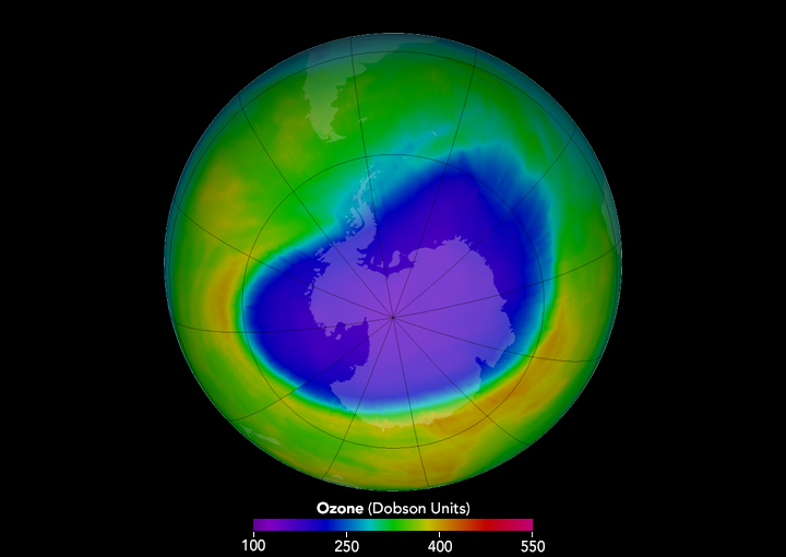 Chlorofluorocarbons And Ozone Depletion  American Chemical Society