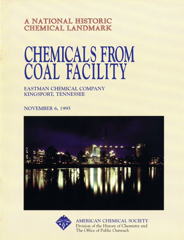 """Chemicals from Coal Facility"" commemorative booklet"