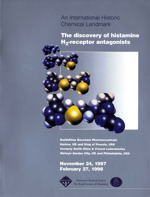 """The discovery of histamine H2-receptor antagonists"" commemorative booklet"