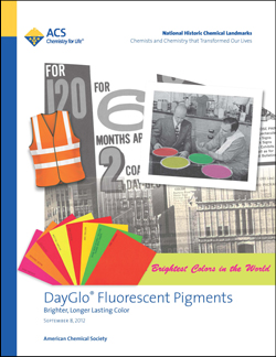 DayGlo Fluorescent Pigments Commemorative Booklet