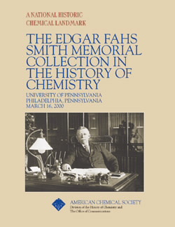 """The Edgar Fahs Smith Memorial Collection in the History of Chemistry"" commemorative booklet"