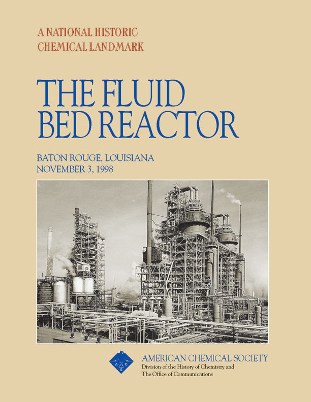 """The Fluid Bed Reactor"" commemorative booklet"