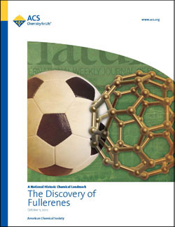 The Discovery of Fullerenes commemorative booklet