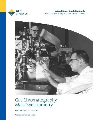 Gas chromatography-mass spectrometry Landmark booklet cover with link to pdf of booklet