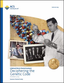 Deciphering the Genetic Code commemorative booklet