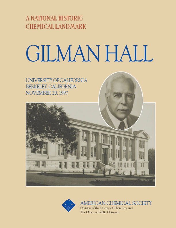"""Gilman Hall"" commemorative booklet"