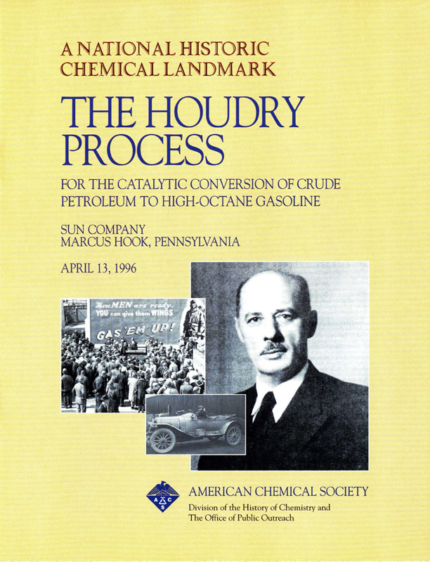"""The Houdry Process"" commemorative booklet"