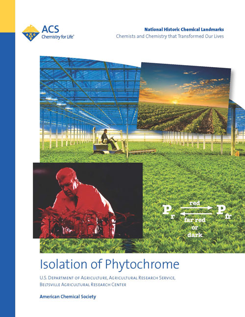 """Isolation of Phytochrome"" booklet"