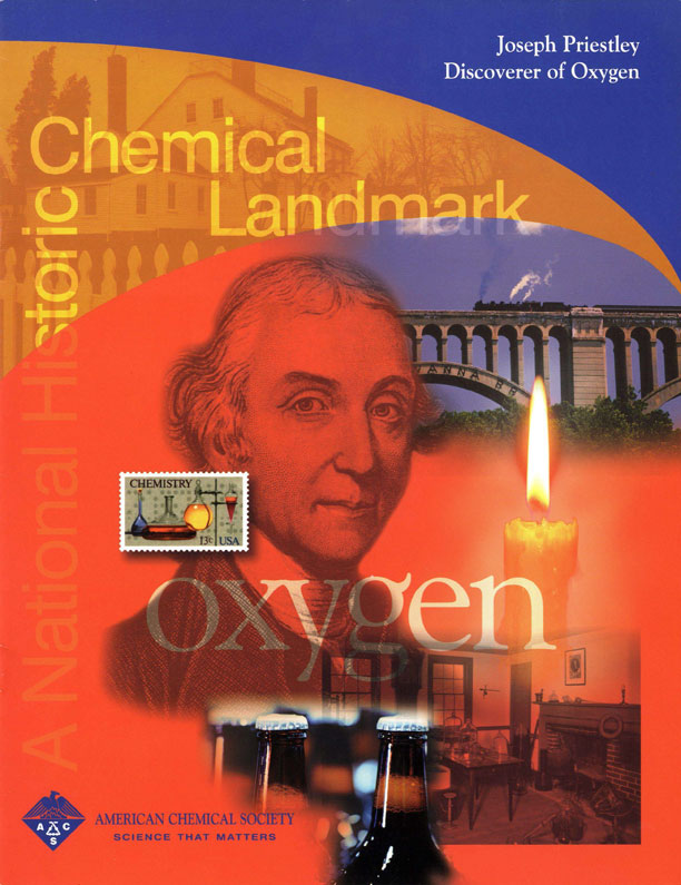 """Joseph Priestley Discoverer of Oxygen"" commemorative booklet"