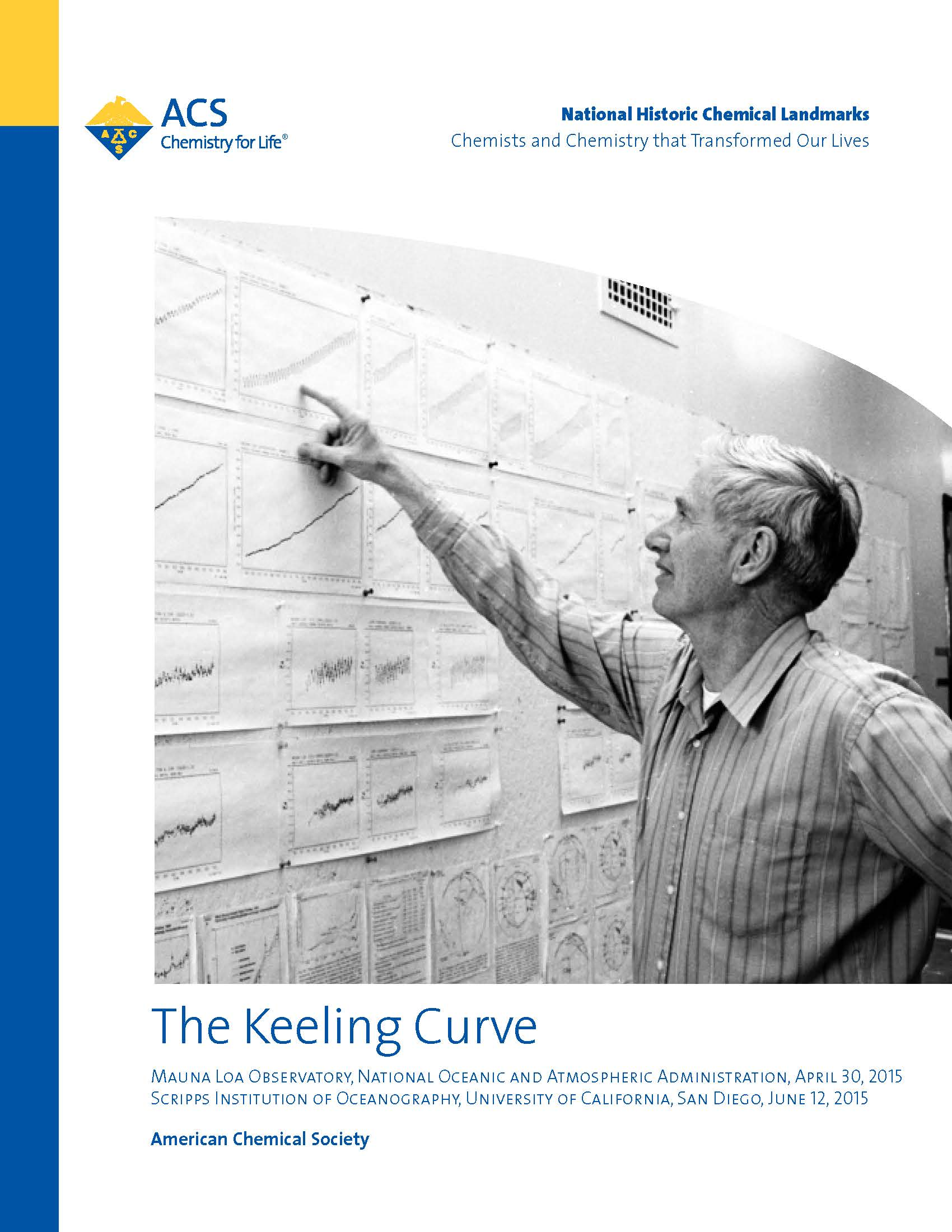 """The Keeling Curve"" booklet"