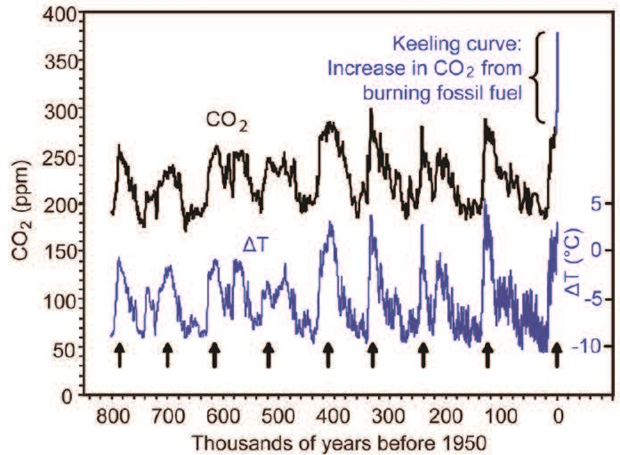 Keeling Curve American Chemical Society