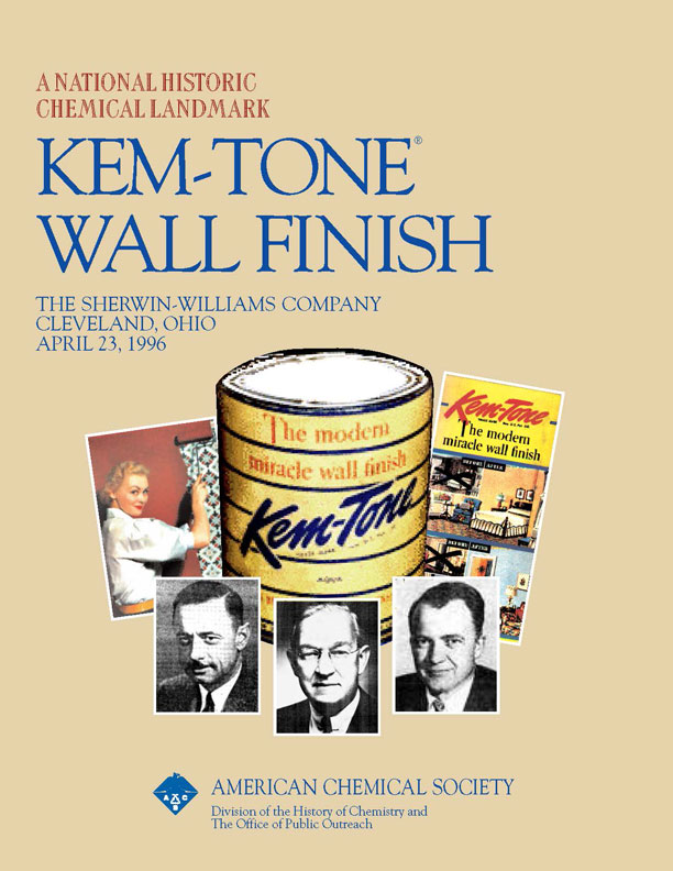 """Kem-Tone Wall Finish"" commemorative booklet"