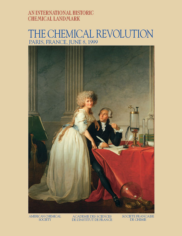 "antoine laurent lavoisier the chemical revolution landmark  ""the chemical revolution"" commemorative booklet """