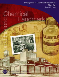 Development of Deep-tank Fermentation, Pfizer, Inc., commemorative booklet