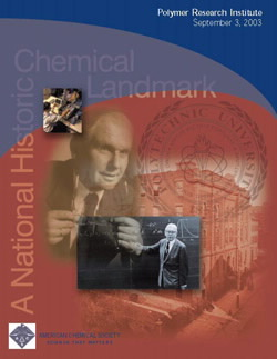 """Polymer Research Institute"" commemorative booklet"
