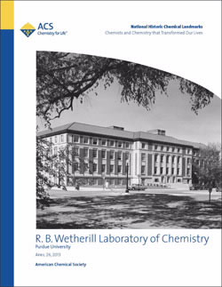 Wetherill Laboratory of Chemistry Commemorative Booklet