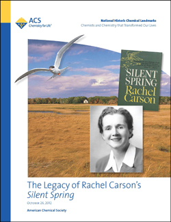 The Legacy of Rachel Carson's Silent Spring commemorative booklet