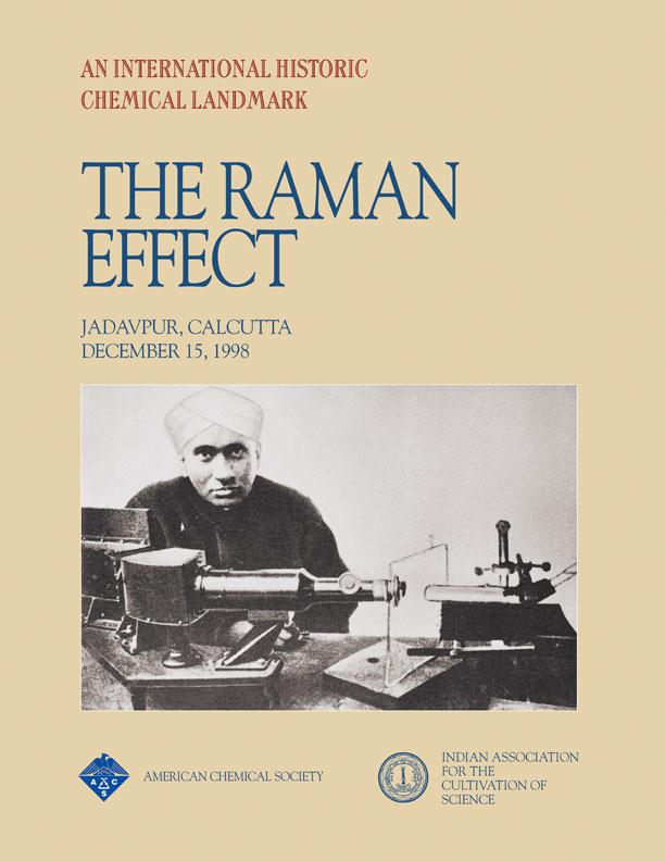 c v raman the raman effect landmark american chemical society