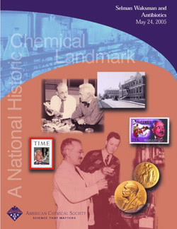 """Selman Waksman and Antibiotics"" commemorative booklet"