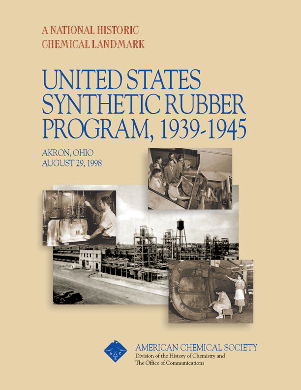 "emp""United States Synthetic Rubber Program, 1939-1945"" commemorative booklet"