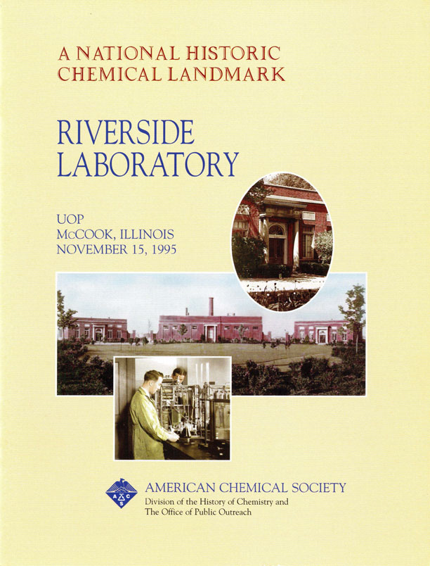 """Riverside Laboratory"" commemorative booklet"