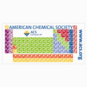 Periodic Table Beach Towel, ACS Store