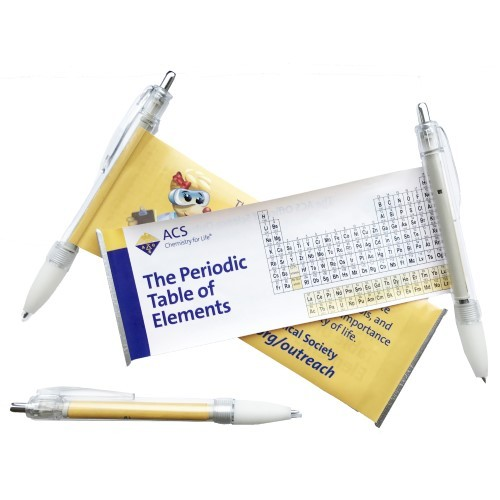 Periodic Table Scroll Pens, ACS Store